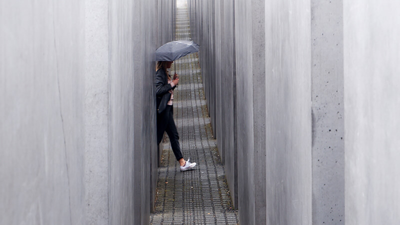 Denkmal der ermordeten Juden Europas