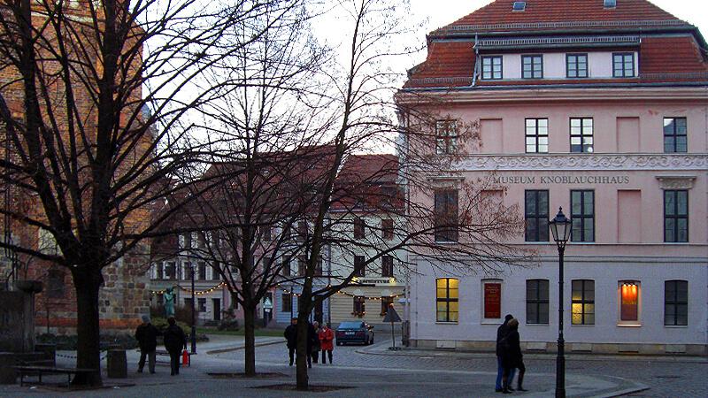 Knonlauchhaus im Nikolaiviertel Berlin