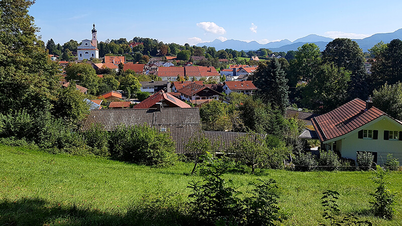 Blick auf Murnau