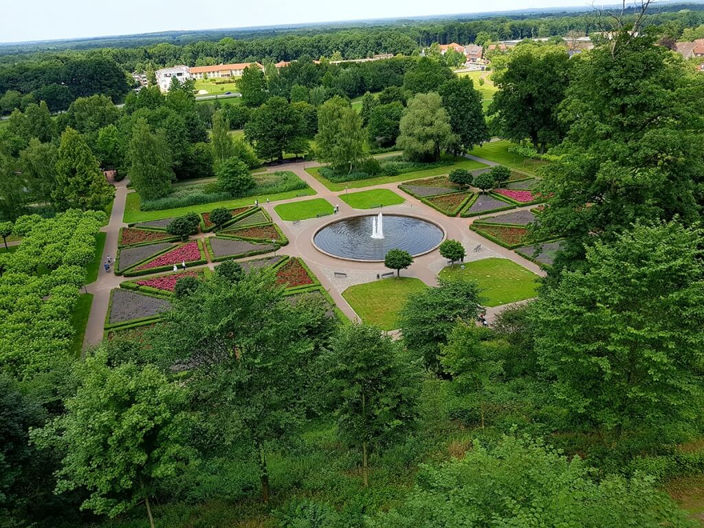 Burg Bentheim Garten