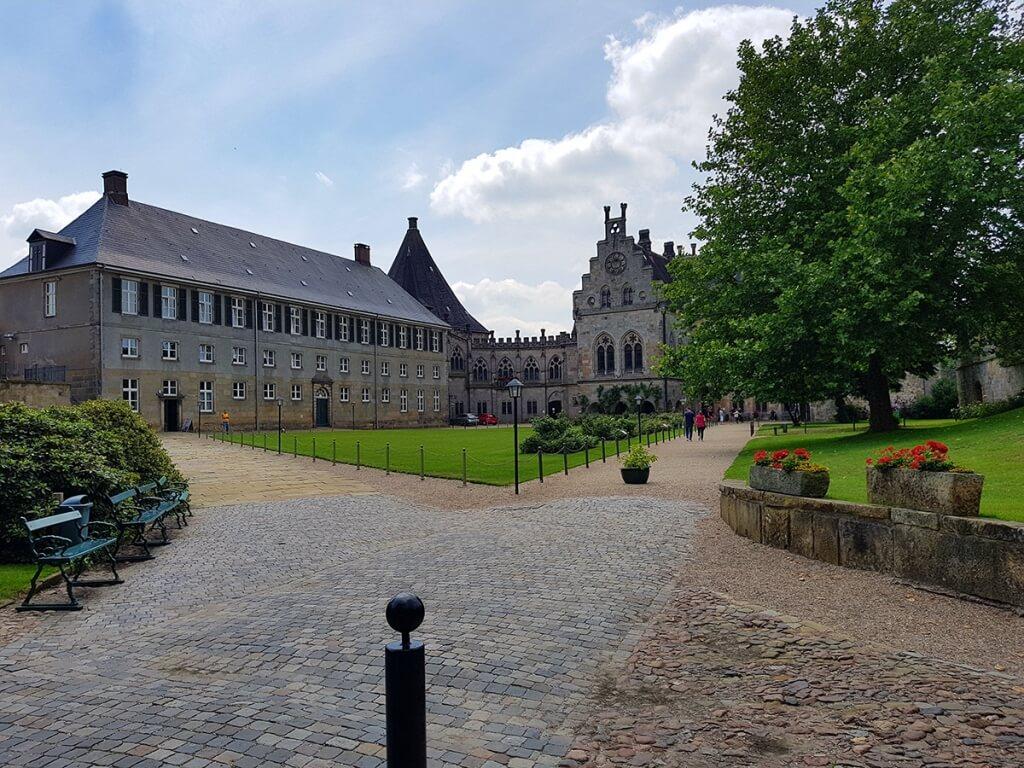 Burg Bentheim Burghof