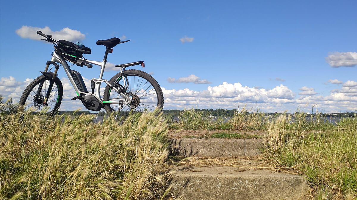 Fahrradtour Elbdeich